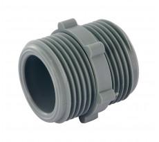 Adaptateur pour flexible de machine à laver double mâle M3/4' (20x27) NOYON & THIEBAULT - 1868S-C1