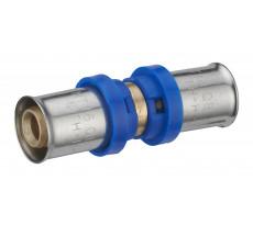 Jonction égale à sertir multiprofil TH-H-U pour tube multicouche NOYON & THIEBAULT - Ø 16 mm - 310301