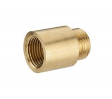 Allonge de robinet mâle femelle MF1/2' (15x21) NOYON & THIEBAULT - L 25 mm - 222-1525L1