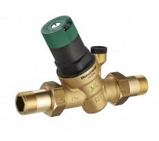 Régulateur de pression à réglage facile double mâle M3/4' (20x27) avec prise manomètre NOYON & THIEBAULT - 7597-20B1