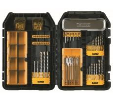 Coffret Mac Case DEWALT pour perçage béton, métal et bois - 95 pièces - DT9291