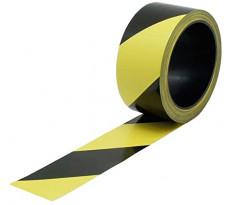 Bande de balisage VISO Noir et jaune - 100 m x 50 mm - RSNA01NJ