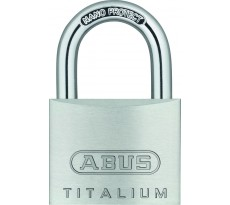 Cadenas à clés ABUS Titalium - Aluminium série 64