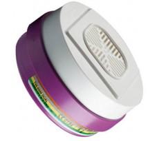 Filtres plastiques HONEYWELL - Pour masque Bi-filtre (Twin) - Click-Fit - QPE08613