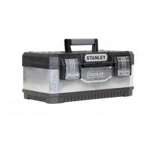 Boîte à outils STANLEY bimatière - galvanisée - 59 cm - 1-95-619