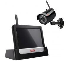 """Kit de Surveillance Vidéo Domestique Touch & App 7"""" - ABUS - TVAC16000A"""