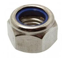 Bague de 100 écrous hexagonaux ACTON indesserrable avec bague nylon - Ø 12 mm - 6260212