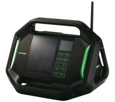 Radio de chantier HITACHI - HIKOKI 18V - Sans batterie ni chargeur - UR18DSALW4Z