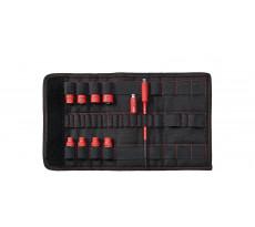 """Jeu de douilles pour clés à douille 1/4"""" TorqueVario®-S electric  WIHA - 10 pièces - 43466"""