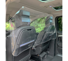 Paroi de séparation souple spéciale véhicule - 137 x 60 cm - fixation Velcro