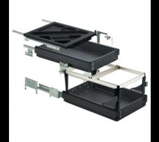 Systema top 2000 caisson bureau   46739 p530 plumier + 1 tiroir + 1 dossier noir