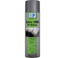 Protection/anticorrosion galva Brillant - KF SICERON - Aérosol - 650ml/500ml - 9346