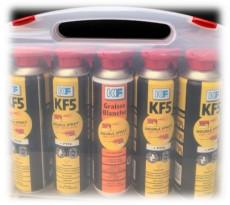 Valise double spray KF avec KF5DS + graisse blanche DS - 32503