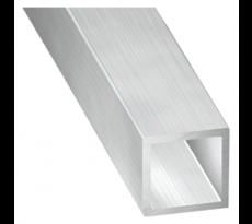 Tube aluminium carré - TOULINOX - au mètre - TOUL001