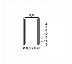 Agrafes V-08 galvanisé ALSAFIX - boîte 10000 - 6V-081