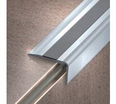 Nez de marche à visser - Aluminium anodisé mat - Longueur 2.50 m - 30x20 - 164 13 11 250