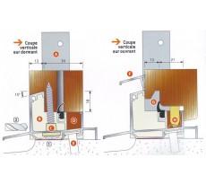 Accessoires et seuil tubulaire ISOL 47T BILCOCQ - ISOL47T