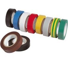 Rouleau adhésif couleur électricien AT7 CORDERIES TOURNONAISES - larg.15 mm x 10 mL - QPE08700