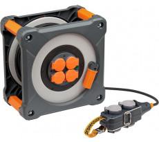 Enrouleur BRENNENSTUHL Cube 25 + 5 m IP44 H07RN-F 3G2,5 - 9212301100