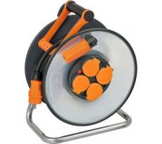 Enrouleur de câble BRENNENSTUHL SteelCore - Avec disques isolants - IP44 25m H07RN-F 3G2,5 - 9192251100