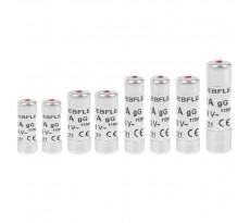 8 Fusibles avec voyant NF 2 x 10/ 16/ 20 Ampères + 1 x 25/ 32 Ampères DEBFLEX Gris - 715006