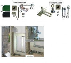 Kits pivot de portail à cheviller ING FIXATIONS