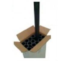 Tube PVC PN10 1.2 m AQUALUX - 10594