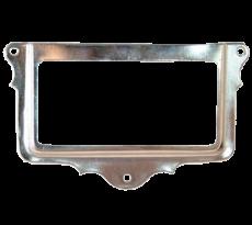 Porte étiquette GUILBERT - 66 x 31 mm - nickelé - 4273220