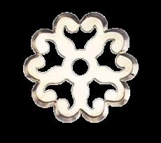 Rosace Ø 35 mm DUBOIS - laiton - 1335