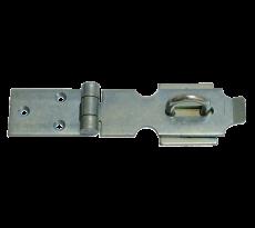 Support à cadenas zingué avec piton TORBEL - 35 x 3 mm - queue de 55 mm - J529562