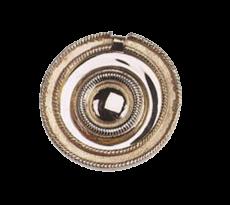 Anneau style Louis XV DUBOIS - Ø 60 mm - laiton - 700704