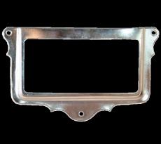 Porte etiquette 427/66x31 nickele