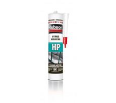 Mastic silicone RUBSON HP spécial vitrage - translucide - cartouche 300 ml - 969108