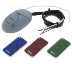 Kit de commande IntiKit - 3 émetteurs 2 canaux + Récepteur OX2 - INTIKIT