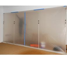 Barrière anti-poussière 4x5 m 40µ THEARD - avec zip - 3508