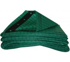 Bâche polyéthylène tissée 220g/m² Delta Plan 2000 DOERKEN -spécial couvreur - 6 x 10 m - 02201830