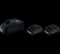 Kit 18V Procore BOSCH - 2 x batteries 18V 4.0Ah + chargeur GAL 1880 CV Pro - 1600A016GU