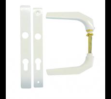 Ensemble plaque étroite Frankfurt HOPPE - clé i - 58/67 - 117GF/200LMGL