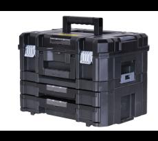 Kit Mallette + Mallette 2 tiroirs Tstak-Fatmax STANLEY 21,5L - FMST1-71981