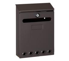 Boîte à lettres Missive DECAYEUX 250x180x60 mm - Marron - 111142