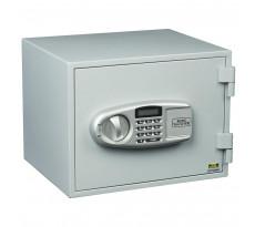 Coffre-fort FP43 E ignifugé électronique + 2 clés secours BURG WAECHTER - intérieur 225 x 320 x 220 mm - 39600