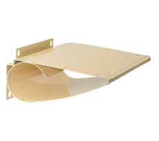 Support boite a lettre beige   127603