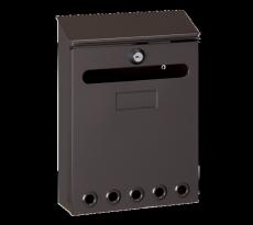 Boîte à lettres Missive DECAYEUX - 250 x 180 x 60 mm - marron - 111142