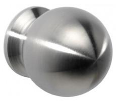 Bouton de meuble boule DIDHEYA - Ø25 - inox massif - I-132/31225