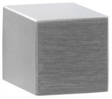 Bouton de meuble carré DIDHEYA - Ø20 mm - inox massif brossé - I-410/34020
