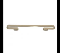Poignée droite CADAP - entraxe 128 mm - L.160 mm - zamack chromé - P0036
