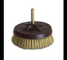 BSAL Brosse rotative mécanisable, brins 25 mm - Acier, laiton
