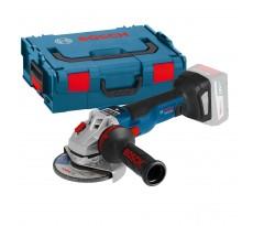 Meuleuse angulaire BOSCH GWS 18V-10SC Professional Solo Click & Go - Sans batterie ni chargeur - 06019G340B