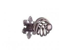 Bouton chaînette 43 BOUVET - Fer cémenté patiné - 13278
