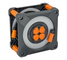 Enrouleur BRENNENSTUHL Cube 40m IP44 H07RN-F 3G1,5 1.5mm² - 9201401100